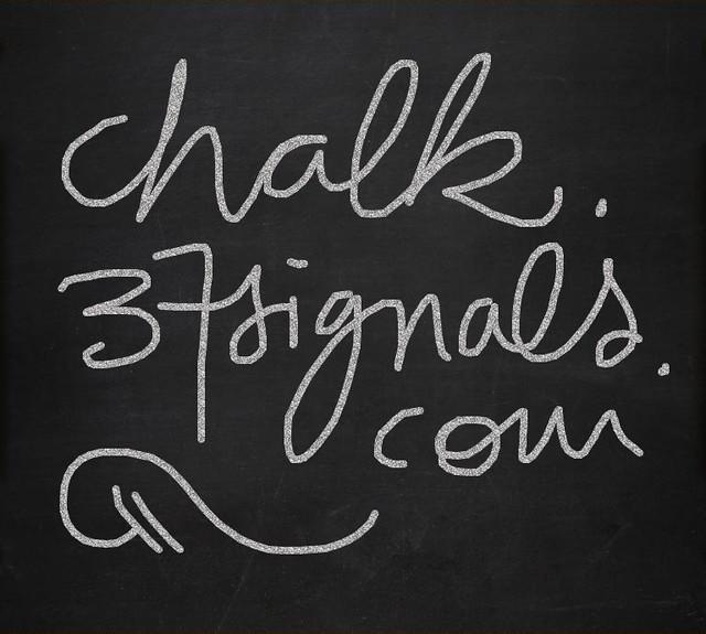 chalk.37signals.com