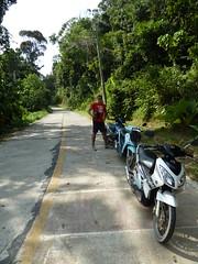 Mopeds in Ko Lanta national park