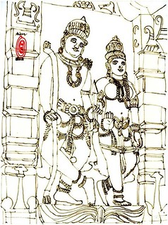 God Ram and Seeta, Shree Smruti temple