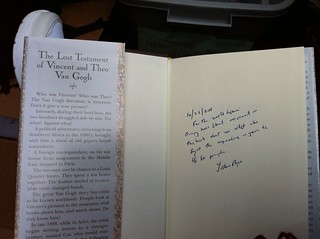 Liston Pope autographed book