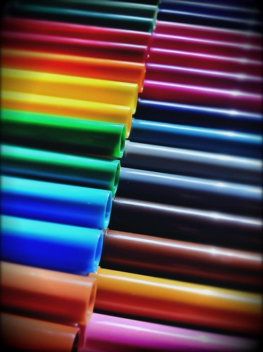 154/365- Multicolor by elineart