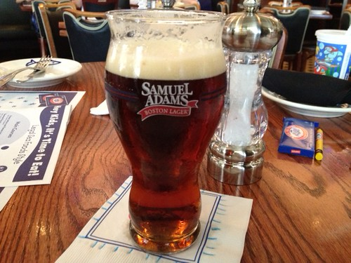 Sam Adams Seasonal @Legal Sea Foods
