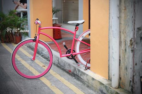 粉紅腳踏車 by moon_o