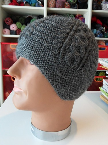 Helm hat test knit done