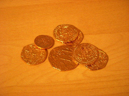 Pirate's Gold Doubloons