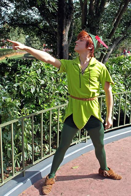 Meeting Peter Pan