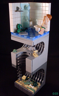 Croc's sewer - my entry for the Eurobricks Lego Batman contest