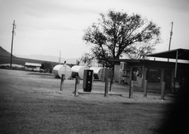 Early 1990s, Gas Station
