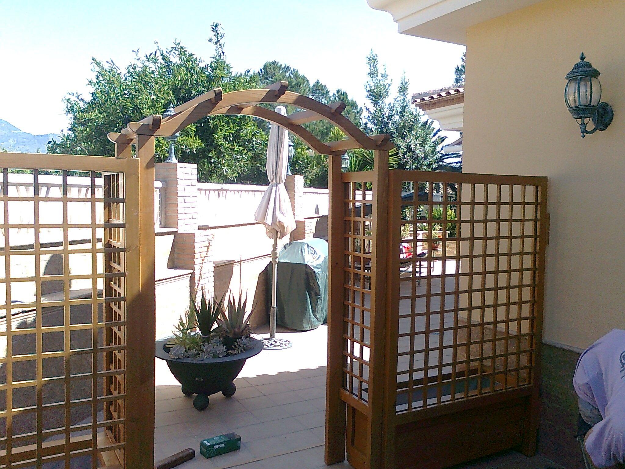 Celos a para jardin celosia para separar dos ambientes for Celosias para jardin