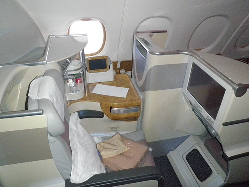 Business Class On The Emirates A380 Back To The Us Trip