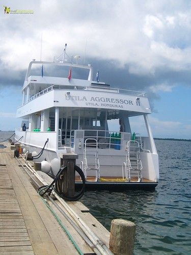 Hotel Reviews - Laguna Beach Resort in Utila, Honduras - luxury yacht