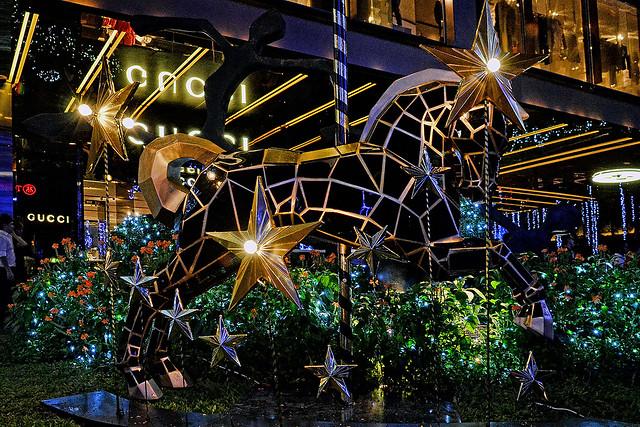 Christmas tree at Paragon, Singapore
