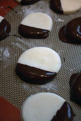 6424591283 fb9a64bec0 m Peppermint creams et fudge au chocolat
