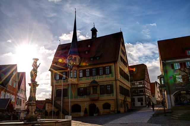 bietigheim bissingen germany town hall hdr qu flickr photo sharing. Black Bedroom Furniture Sets. Home Design Ideas