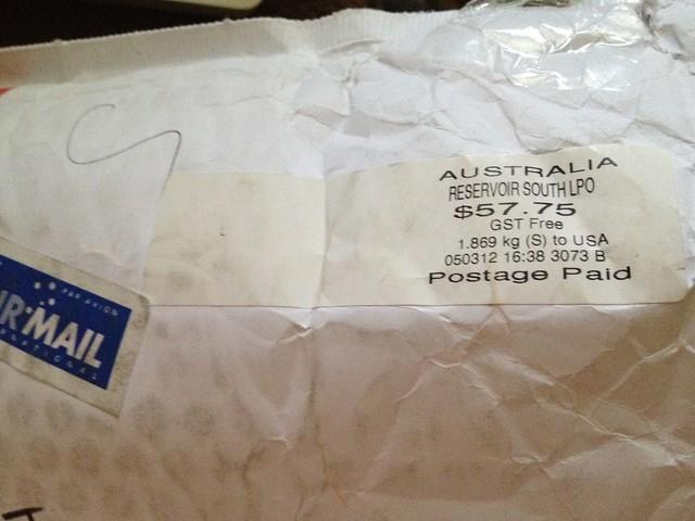 Crazy Postage!