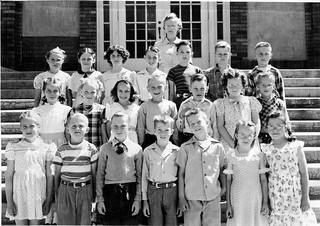 Grade 3 class (1948-49) at Roosevelt Grade School (now called Roosevelt Elementary School), Klamath Falls, Oregon