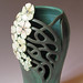 Art Nouveau Vase by maidofclay