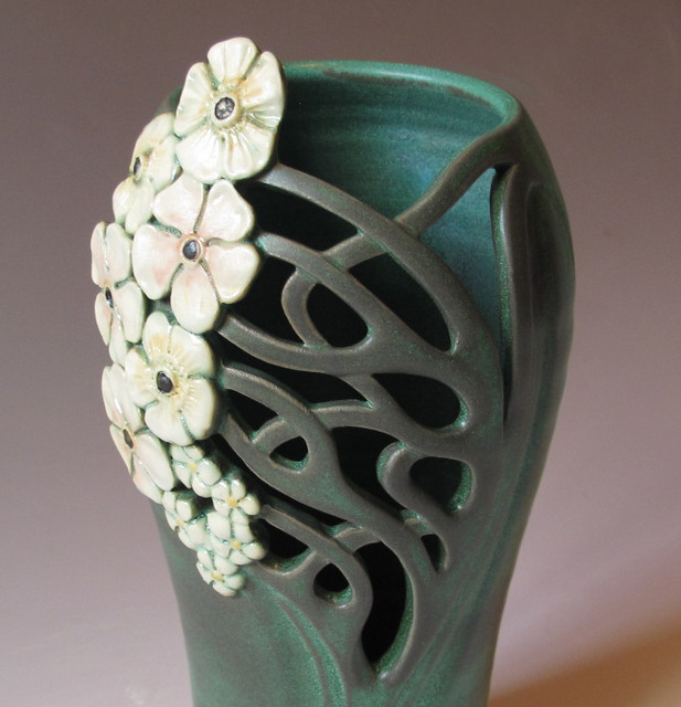 Art nouveau vase flickr photo sharing