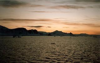 Bruning Sky Brainsfield Strait Antarktis