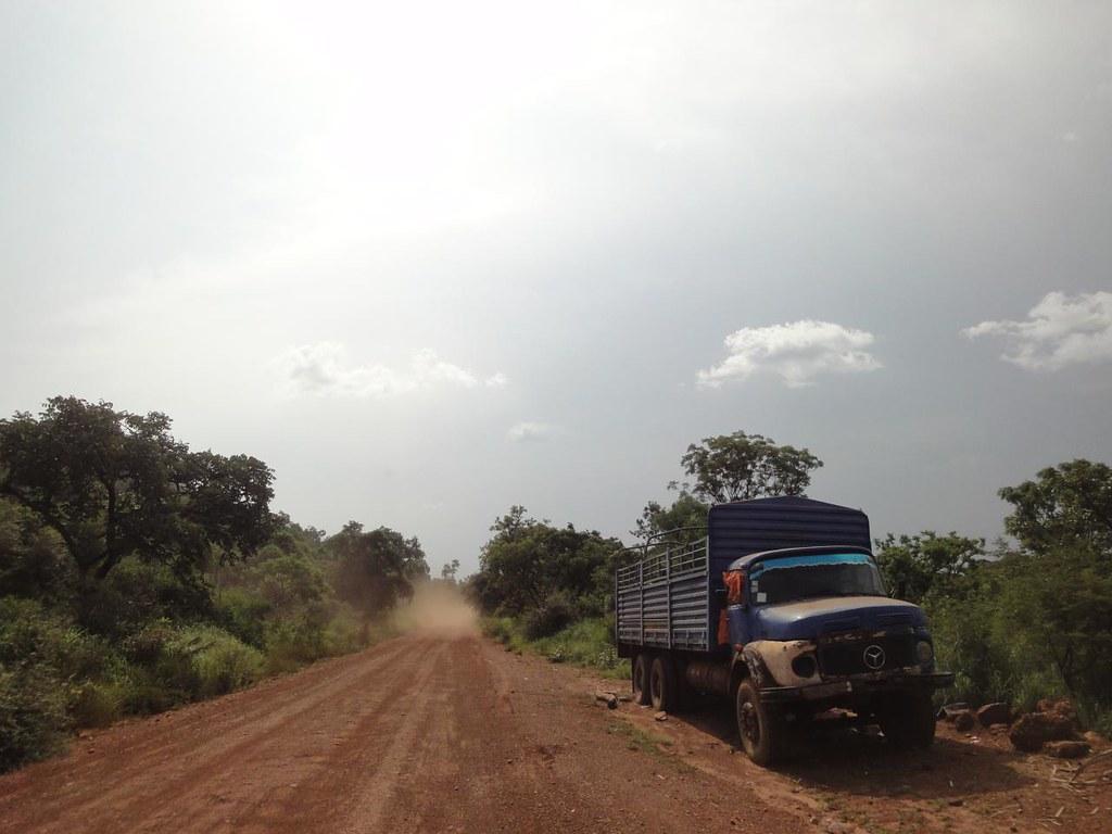 Estrada desde Juba até fronteira com RD Congo