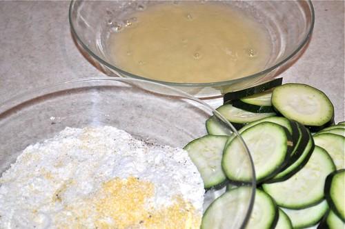 crispy sautéed zucchini