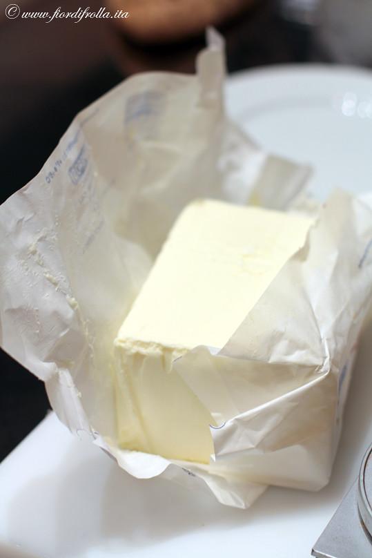 Gli ingredienti: burro