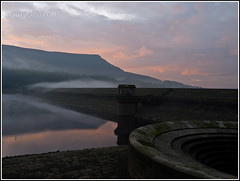 A Misty Ladybower Dam