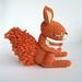 Cinnamon The Squirrel by irenestrange