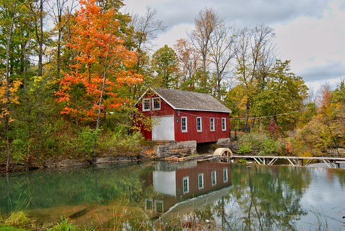 ontario canada fall stcatherines decewfalls turbineshed morningstarmill