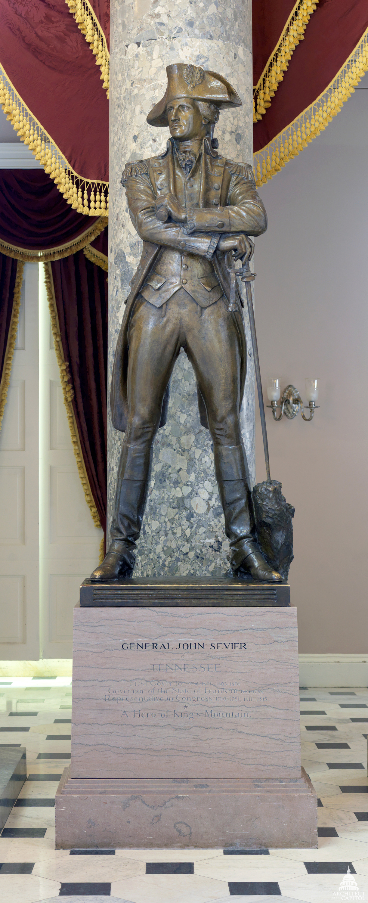 John Sevier Architect Of The Capitol