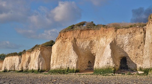 Pegwell Bay Cliffs by Kinzler Pegwell