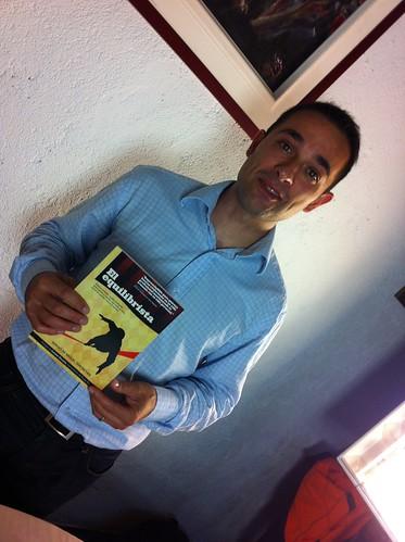 Sergio de Miguel presentadon su libro en LaVisita TeleBilbao by LaVisitaComunicacion
