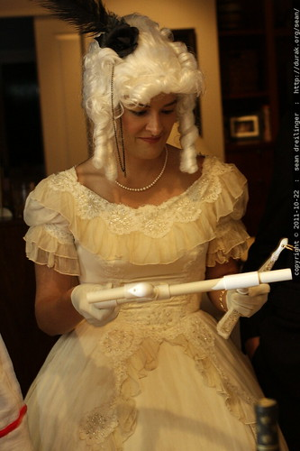 renaissance architect examines the marshmallow blowgun    MG 5893