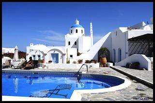 Aethrio Resort in Santorini