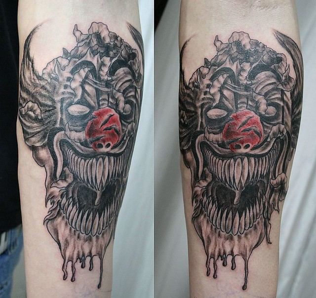 Red_Nose_Joker_Tattoo_by_2Face_Tattoo