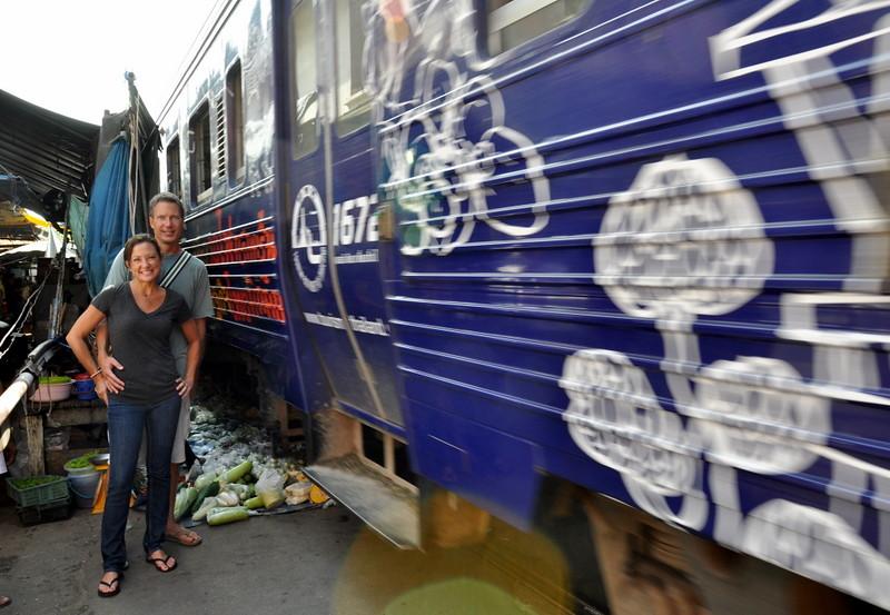 Bangkok Train Market