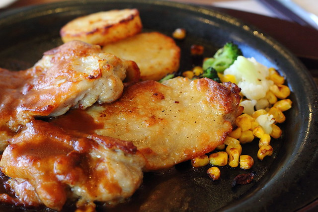 Roasted Chicken with Demiglace Sauce (Matsudo, Chiba, Japan)