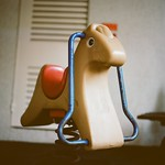 Plastic Horse Springer