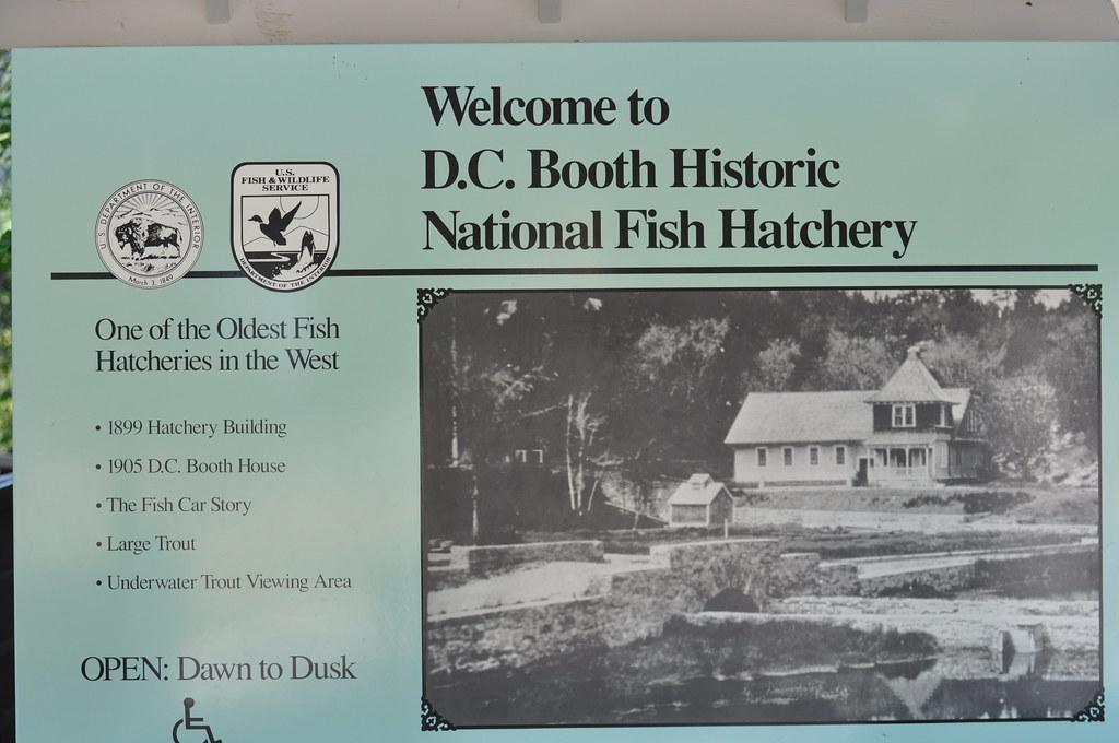 Spearfish badlands and black hills dakota du sud for Spearfish fish hatchery