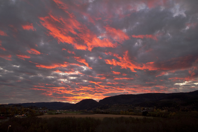 Sunset - Hegra