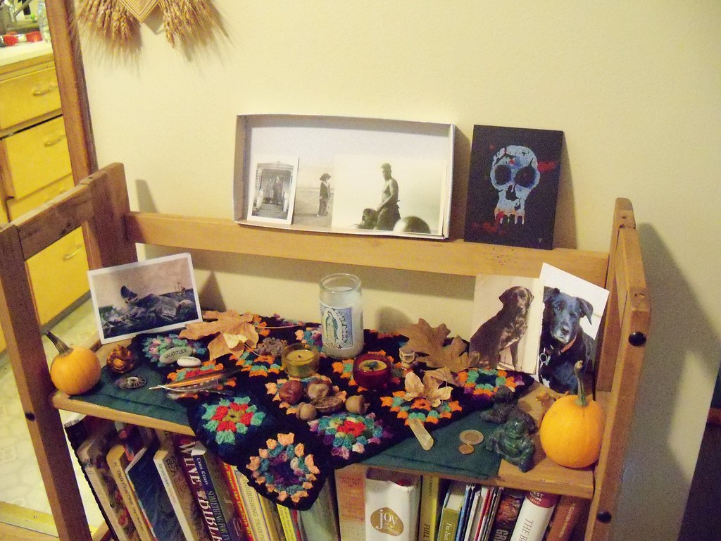 Day of the Dead Nature Table