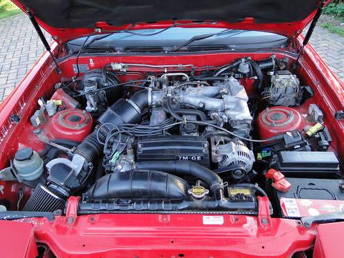 1988 toyota supra 3 0 engine flickr photo