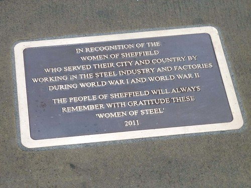 Women Of Steel Plaque