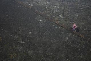 Attēls no Charles Fort pie Kinsale. stone kara ruins stairway kinsale cameraduel charlesfort