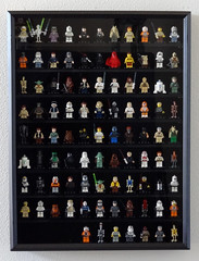LEGO Minifigure display