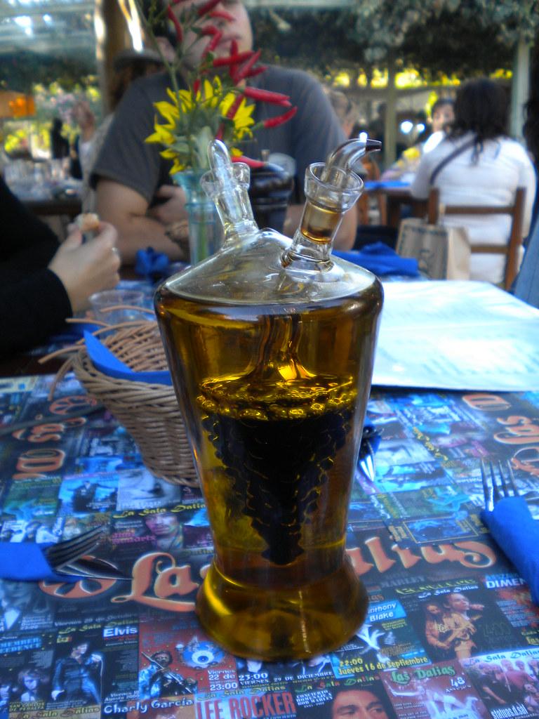 Aceite y vinagre en Las Dalias