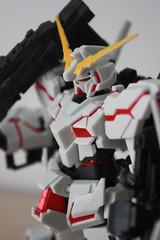 [Robot Tamashi] RX-0 UNICORN GUNDAM(Destroy mode) Full action ver.