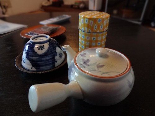 Tea - Kawaguchi Ryokan - Miyagima by girl from finito