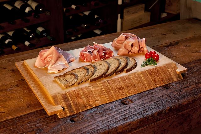 Tagliere in legno da affettati tagliere da tavola in - Tavola legno lamellare faggio ...