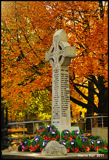 Remembrance Day - The Richmond Cenotaph at Richmond City Hall N7857e